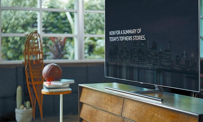 Tivi QLED Samsung 55 inch QA65Q7FNAKXXV có màn hình QLED bền bỉ