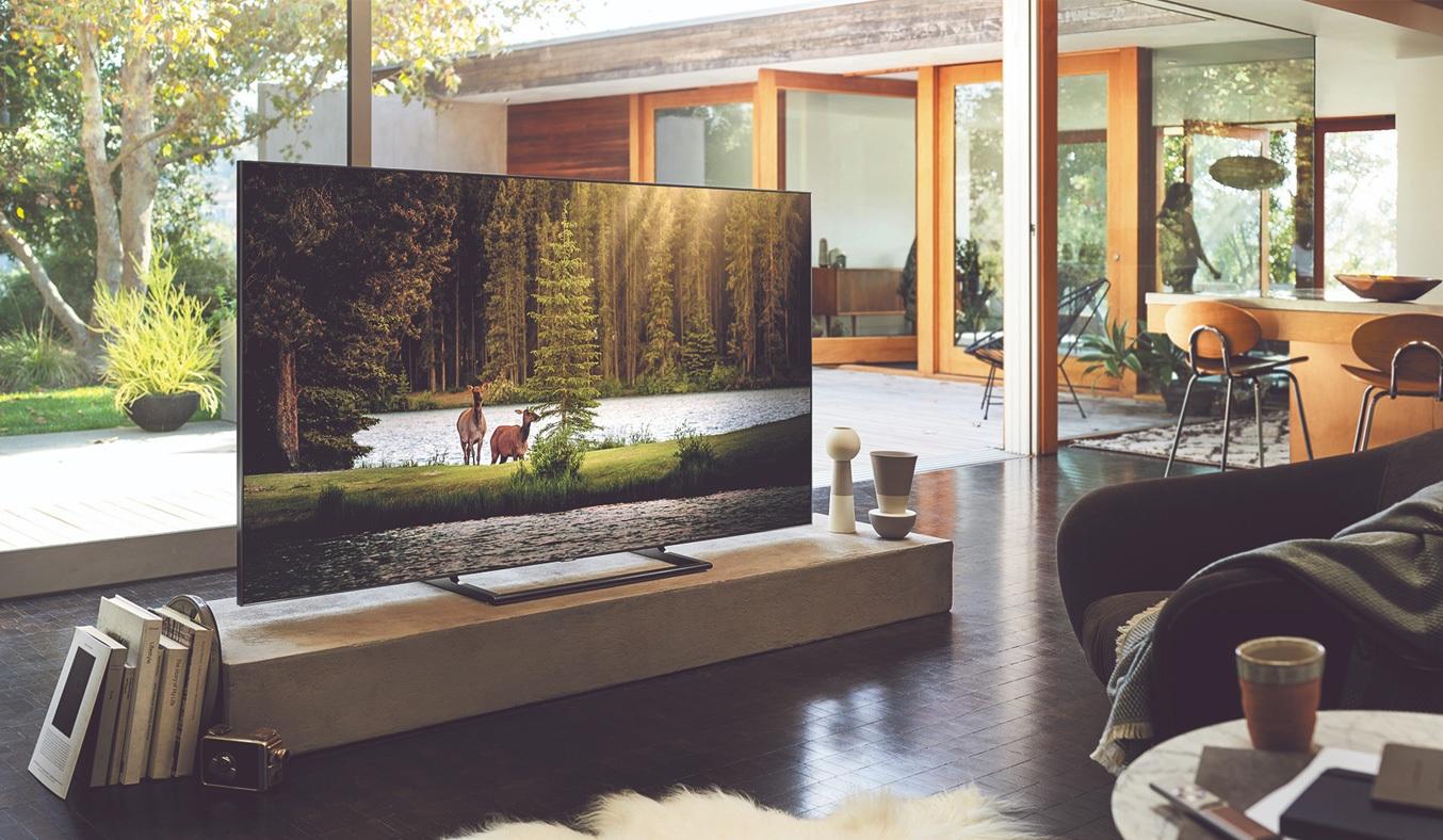 Tivi QLED Samsung 55 inch QA65Q7FNAKXXV mang đến hình ảnh với màu sắc hoàn hảo