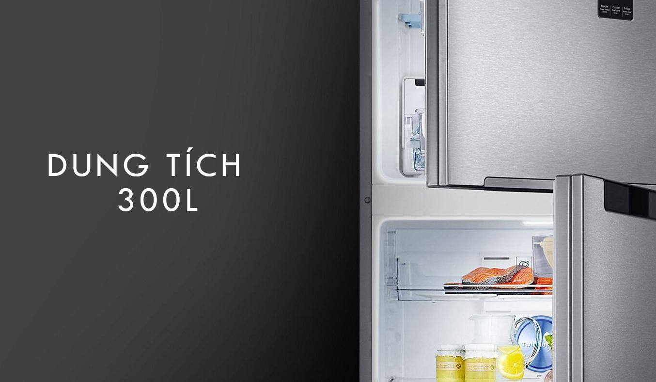 Tủ lạnhSamsung RT29K5532DX có dung tích 300 lít