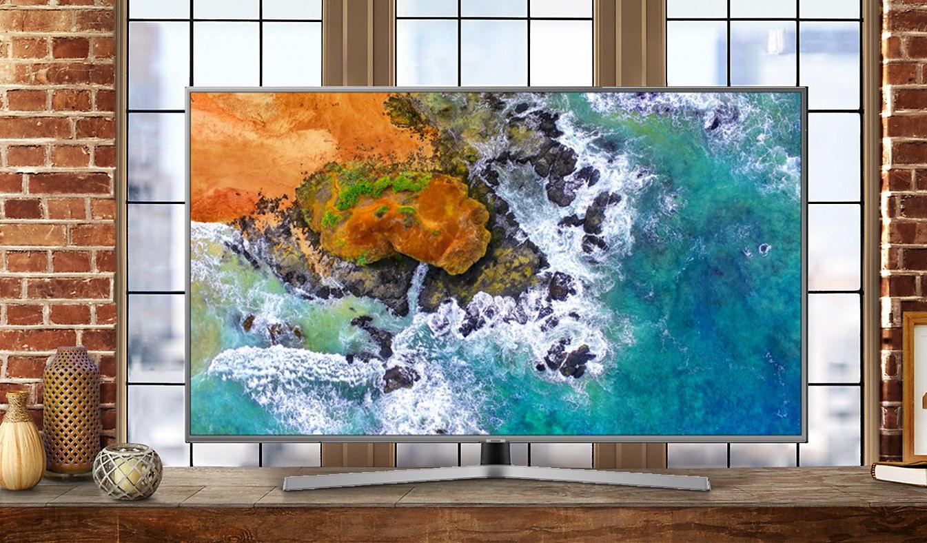 Tivi Samsung 55 inch UA55NU7400KXXV có màu sắc tinh thể động chân thực