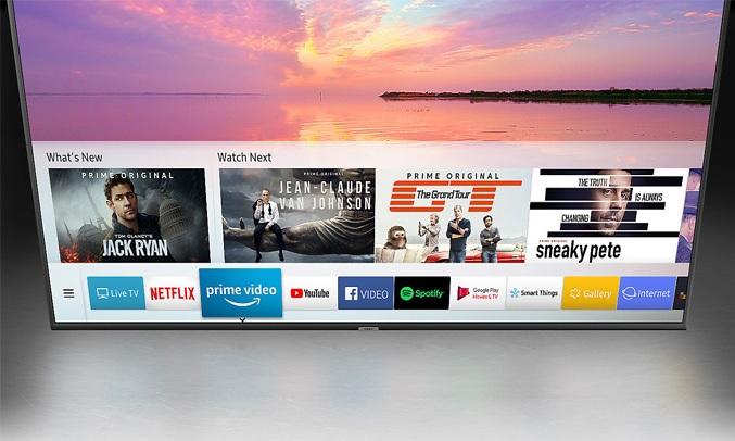 Tivi Samsung 58 inch UA58NU7103KXXV tiện ích giải trí mở rộng