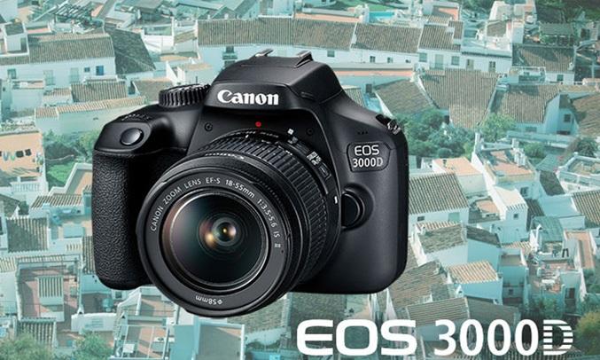 Máy ảnh CanonEOS 3000D KIT 18-55 DC III bộ xử lý mạnh mẽ