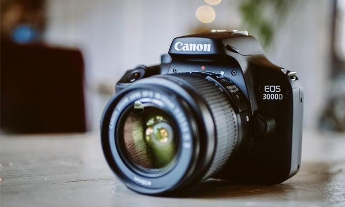 Máy ảnh CanonEOS 3000D KIT 18-55 DC III trải nghiệm chân thực