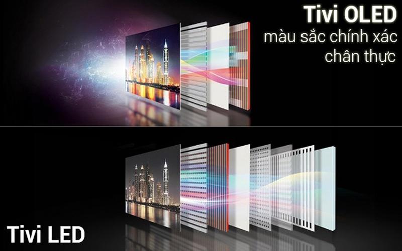 Smart TV OLED màu sắc chính xác và chân thực