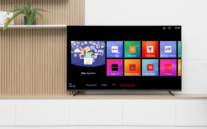 Smart TV cơ bản có hệ điều hành riêng theo từng hãng