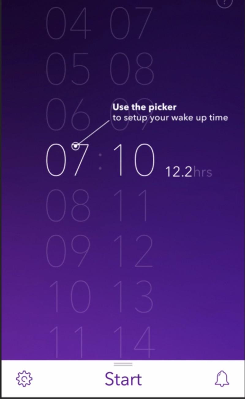 Pillow cho phép bạn thiết lập theo nhiều hình thức ngủ khác nhau