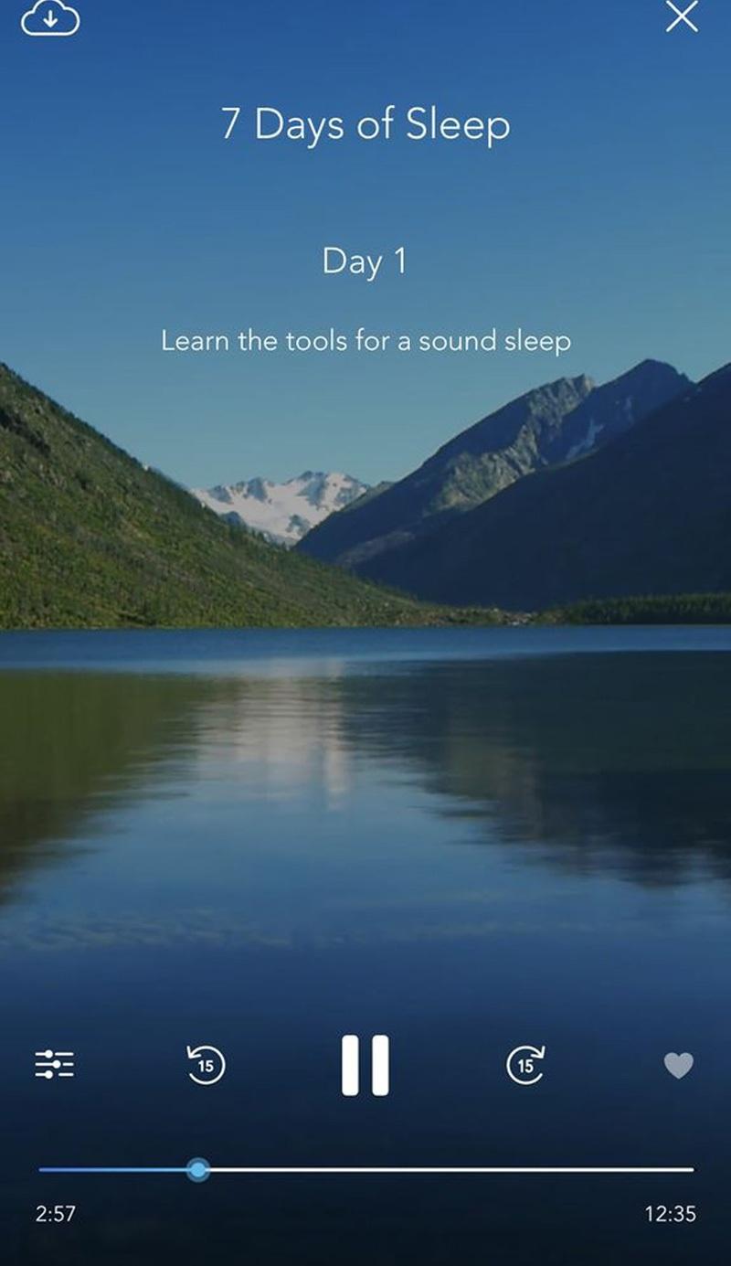 Khi sử dụng ứng dụng Calm bạn nên để điện thoại ở chế độ yên lặng nhé