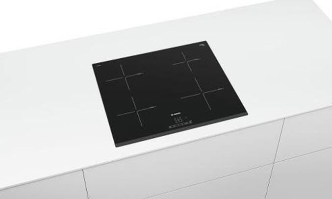 Bếp từ Bosch PUE631BB2E với công nghệ Booster có khả năng tăng cường nhiệt lượng gấp đôi
