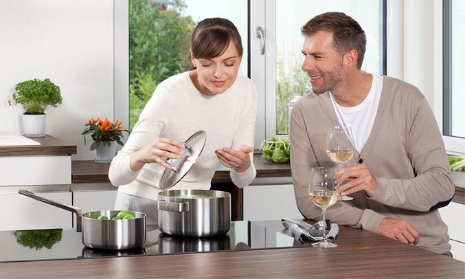 Bếp điện từ đôi Junger NKD-22+ hẹn giờ tiện ích