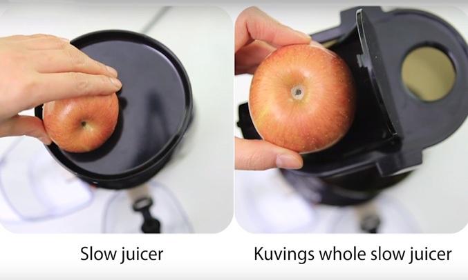 Máy ép trái cây Kuvings NS-924CBC2 có ống tiếp nguyên liệu 2 hộc