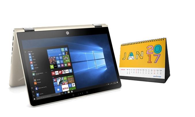 Laptop HP Pavilion X360 14-BA121TU (3CH50PA) kích thước nhỏ gọn
