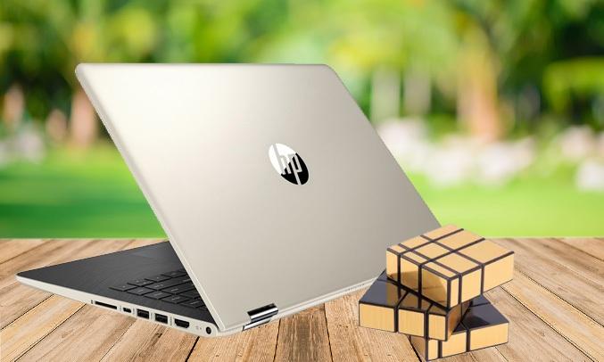 Laptop HP Pavilion X360 14-BA121TU (3CH50PA) kết nối linh hoạt