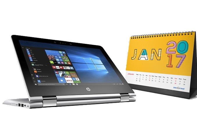 Laptop HP Pavilion x360 11-ad032tu 3MS14PA kích thước nhỏ gọn