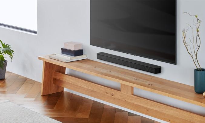 Dàn âm thanh Sound Bar Sony HT-S100F kết nối dễ dàng