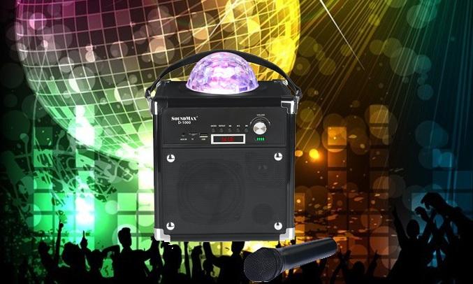 Loa vi tính Soundmax D1000 có thể kết nối không dây bluetooth rất tiện lợi