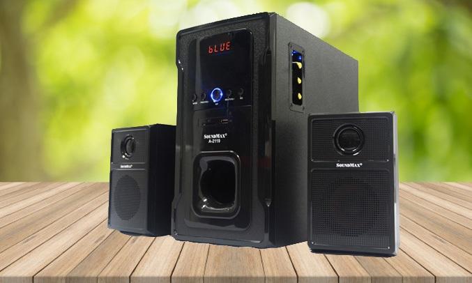 Loa vi tính Soundmax A2123 chống nhiễu, chống rè tốt