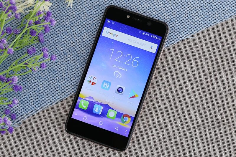 Điện thoại Mobiistar Zumbo Power vàng có hiệu năng phù hợp cho nhu câu cơ bản