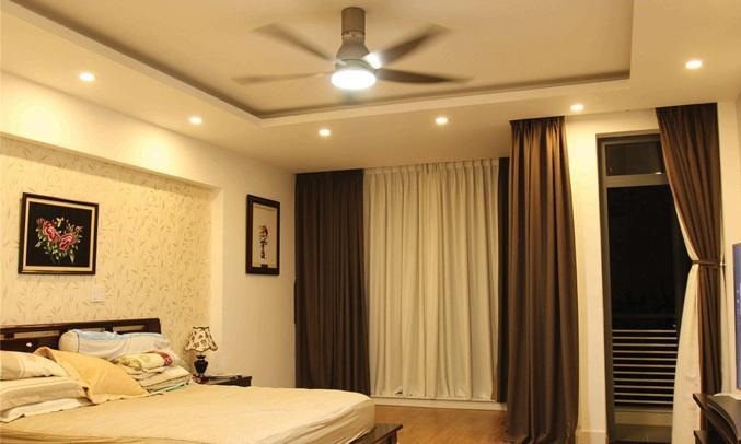 Quạt trần KDK U60FW tích hợp đèn LED