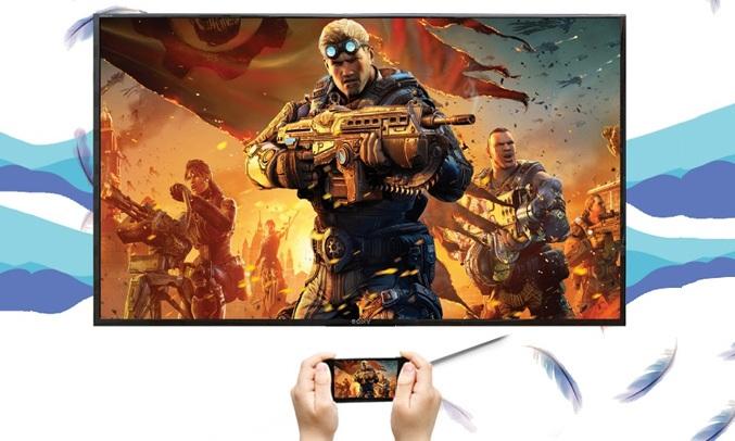 Tivi Sony Android 49 inch 49X9000F VN3 chia sẻ thông minh