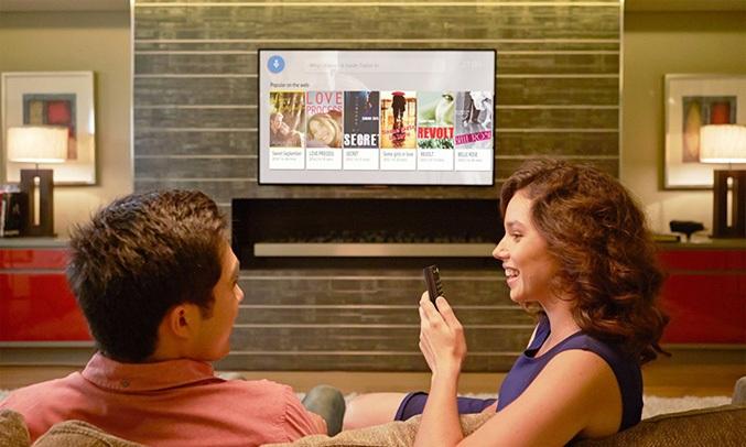 Tivi Sony Android 49 inch 49X9000F VN3 tìm kiếm bằng giọng nói