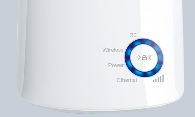 Thiết bị thu phátvô tuyến TP-LINK WA850RE giúp dễ dàng nhận biết độ mạnh của tín hiệu thông qua đèn báo thông minh