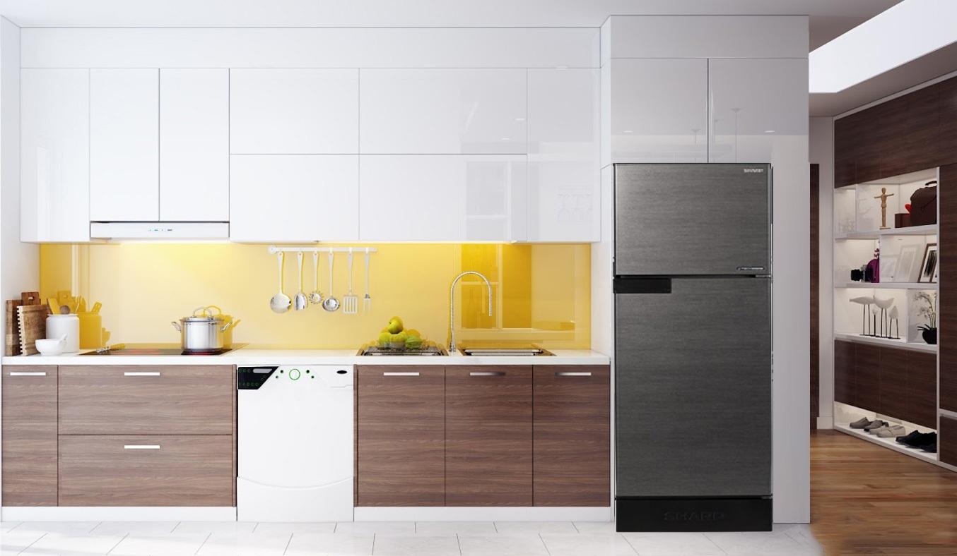 Tủ lạnh Sharp SJ-X176E-DSSvới công nghệ J-Tech Inverter cho phép tủ có thể thay đổi công suất làm lạnh 36 cấp độ