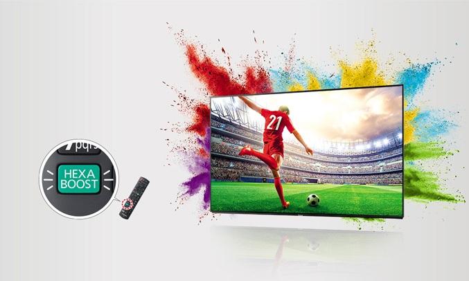 Tivi Panasonic 50 inch TH-50FS500V giúp bạn có thể thưởng thức được những chương trình yếu thích với màu sắc sống động nhất