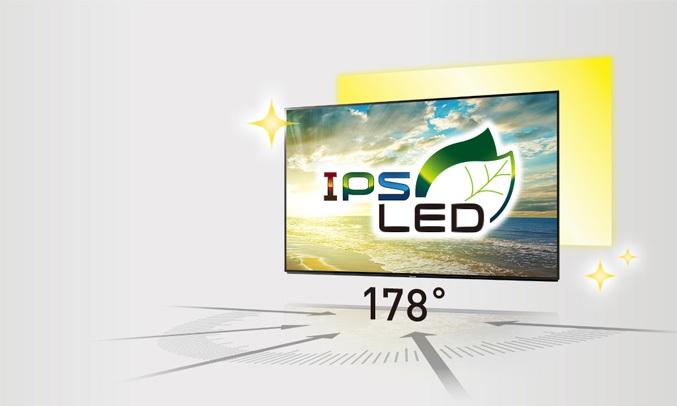 Tivi Panasonic 55 inch TH-55FX700V sở hữu màn hình LED IPS tạo ra hình ảnh rức rỡ và sống động hơn với những góc nhìn rộng nhờ vào độ sáng cao