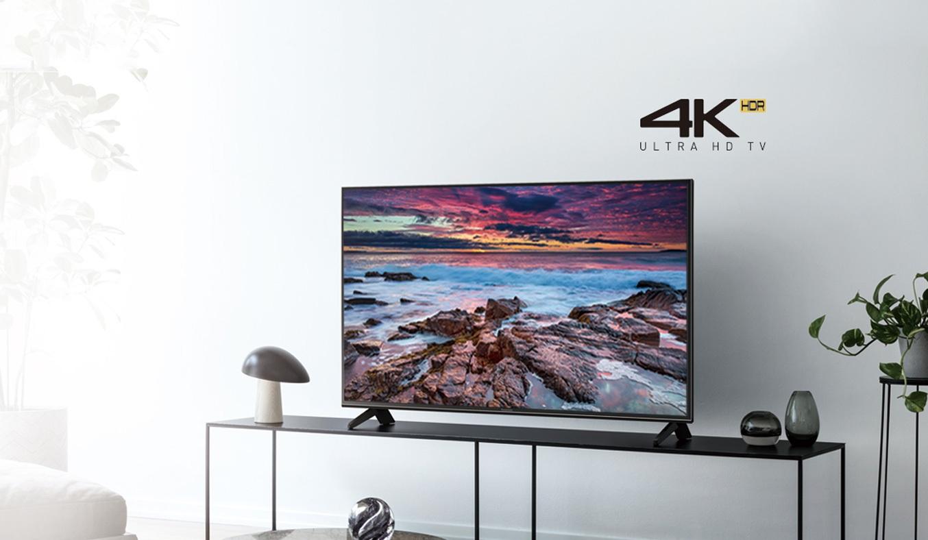Tivi Panasonic 43 inch TH-43FX600Vsở hữu màn hình sáng cho ra những hình ảnh chất lượng cao và rõ nét nhất