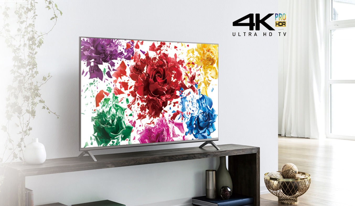 Tivi Panasonic 55 inch TH-55FX700Vmang đến những hình ảnh sắc nét chân thực nhờ màn hình HDR 4K Pro