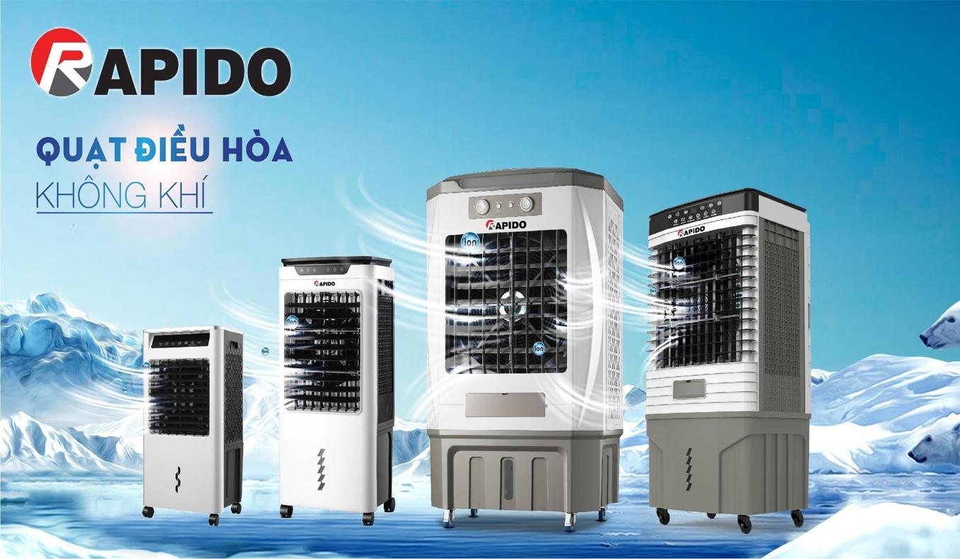 Quạt điều hòa Rapido TURBO-3000M Chịu nhiệt tốt