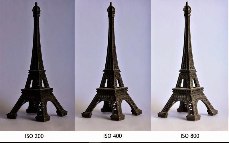 Với những mức độ ISO khác nhau cho chất lượng hình ảnh khác nhau