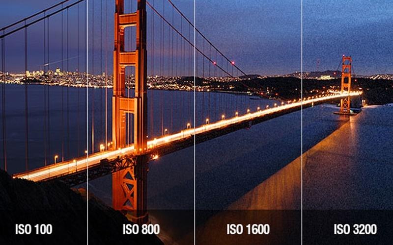 ISO càng cao hình ảnh càng nhiều hạt