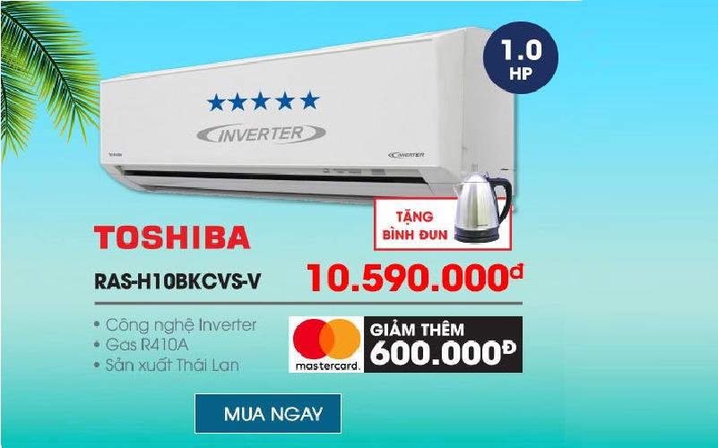 Máy lạnh Toshiba trợ giá ưu đãi