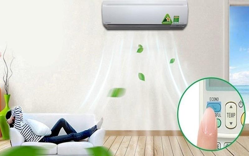 Máy lạnh Inverter Daikin không những khử mùi mà còn tiết kiệm điện hiệu quả