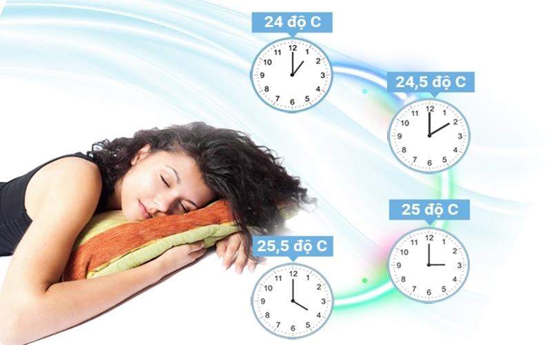 Nhiệt độ được ổn định với máy lạnh Inveter