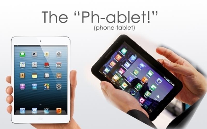 Phablet, đứa con lai thừa hưởng mọi đặc tính tốt từ tablet và smartphone