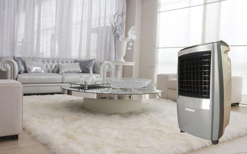 Quạt hơi nước Shimono sở hữu thiết kế gọn nhẹ, đa tiện ích cho người dùng