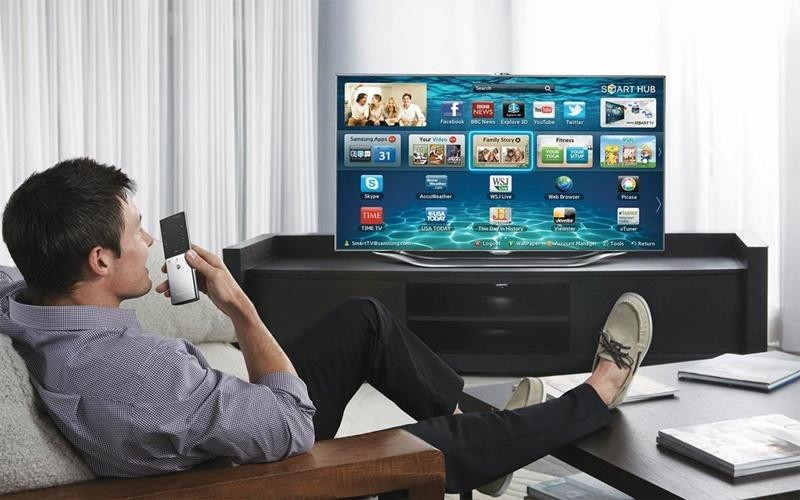 Điều khiển bằng giọng nói với tivi Samsung