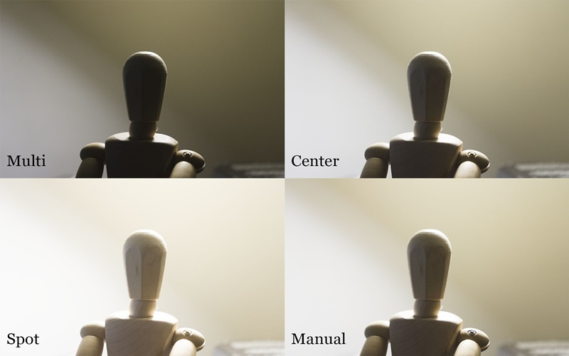 Đo sáng trung tâm giúp chụp ngược sáng tốt hơn đo sáng toàn khung