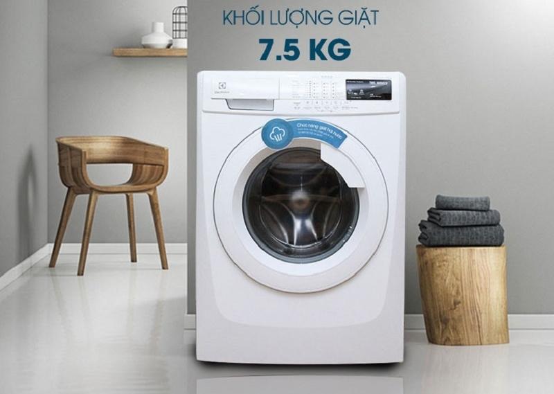 Khối lượng giặt phù hợp với gia đình có 4 thành viên