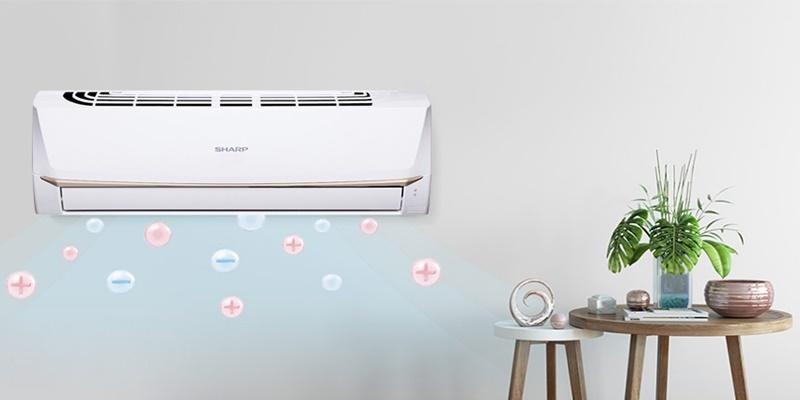 Máy lạnh cung cấp ion cho không khí trong lành