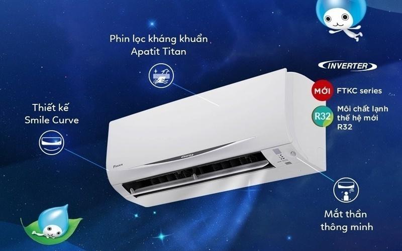 Máy lạnh có nhiều tính năng vượt trội