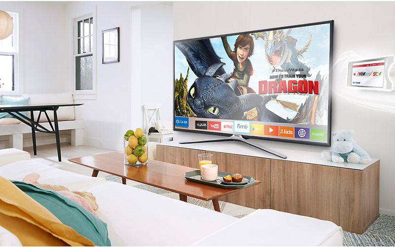 Smart tivi Samsung thiết kế cuốn hút
