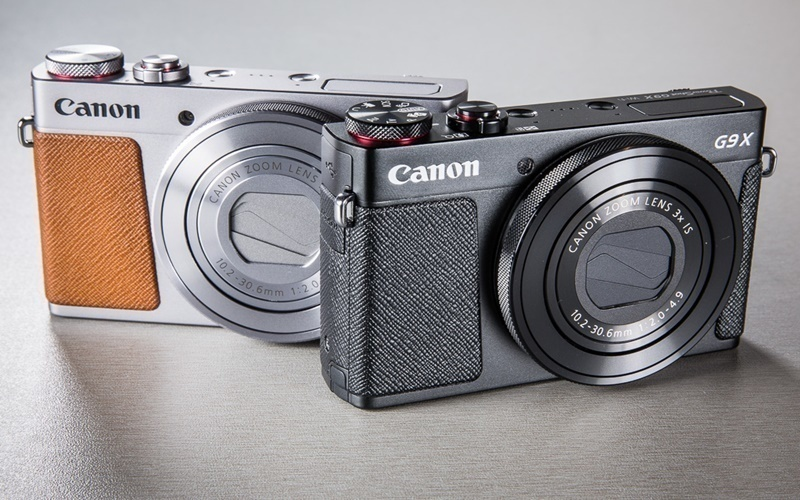 Máy chụp hình Canon thiết kế thanh lịch