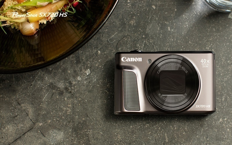 Thiết kế thanh lịch, thu hút mọi ánh nhìn với máy ảnh Canon