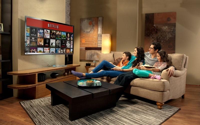 Xem tivi là thời gian gia đình được thư giản cùng nhau