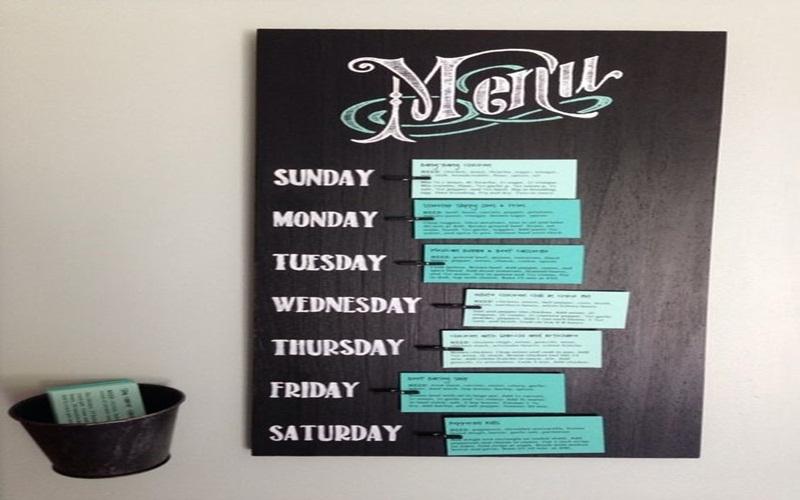 Lên thực đơn cho nguyễn tuần sẽ chuẩn bị bữa ăn nhanh hơn