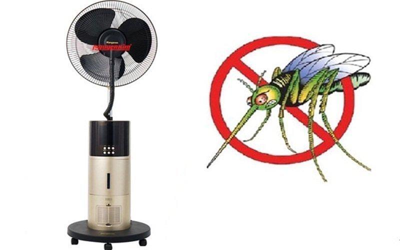 Thiết bị có chức năng đuổi muỗi cực tốt