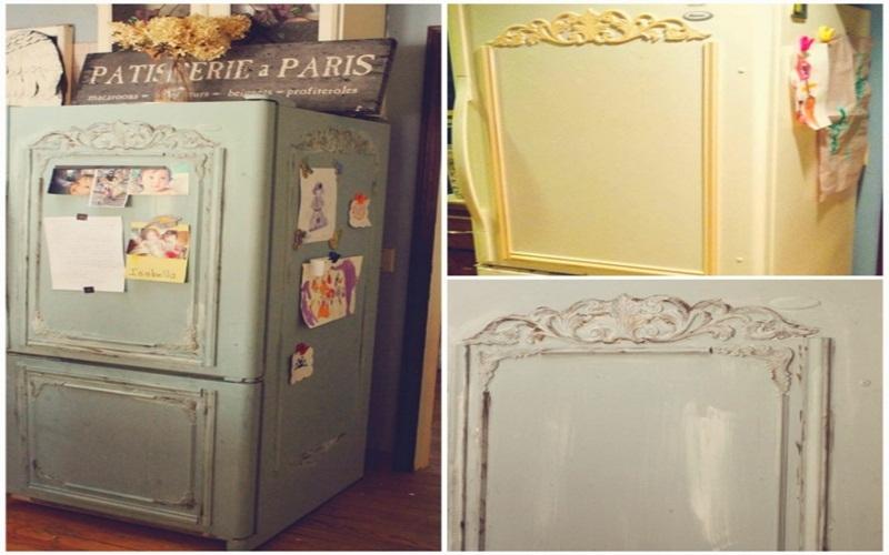 Tự tay trang trí tủ lạnh theo ý thích riêng của mình